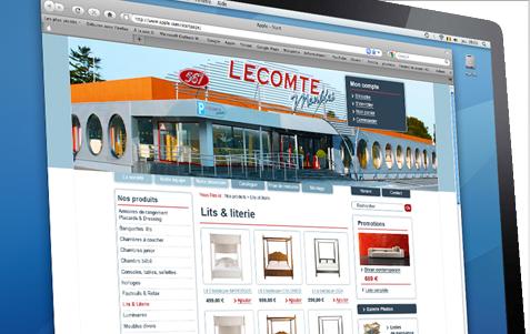 Meubles Lecomte Easy Concept Creation De Sites Internet Cms Et E Commerce